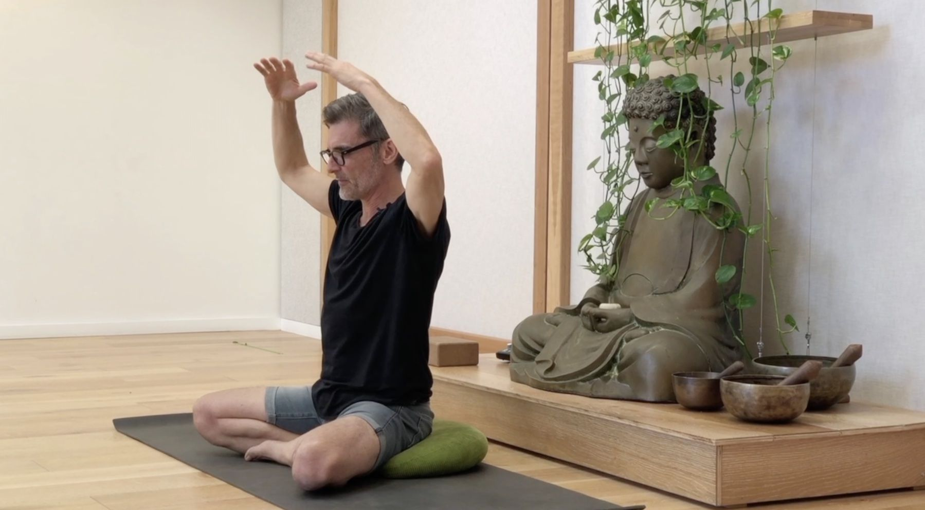Hero Image Connection through Mudra (25min) with Rod