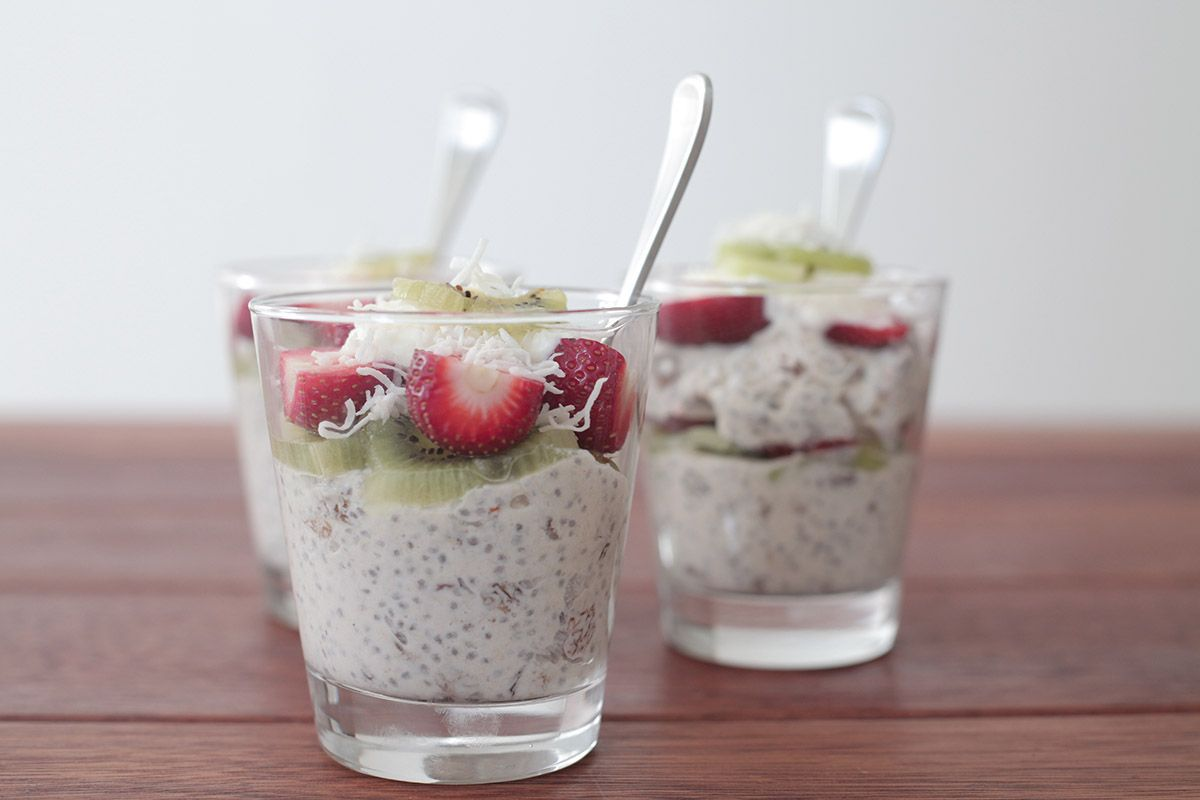Hero Image Chia Breakfast Pudding