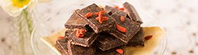 Hero Image Wholefood Treat - Raw Cacao Nib Slice