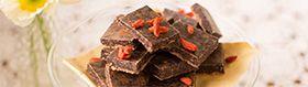Hero Image Wholefood Treat - Raw Cacao Nib Slice