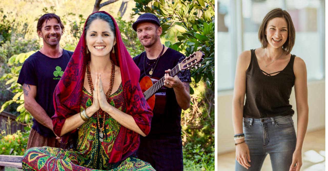 Hero Image 'Sound of Prana' Yoga Flow with Dubarray & Amy G