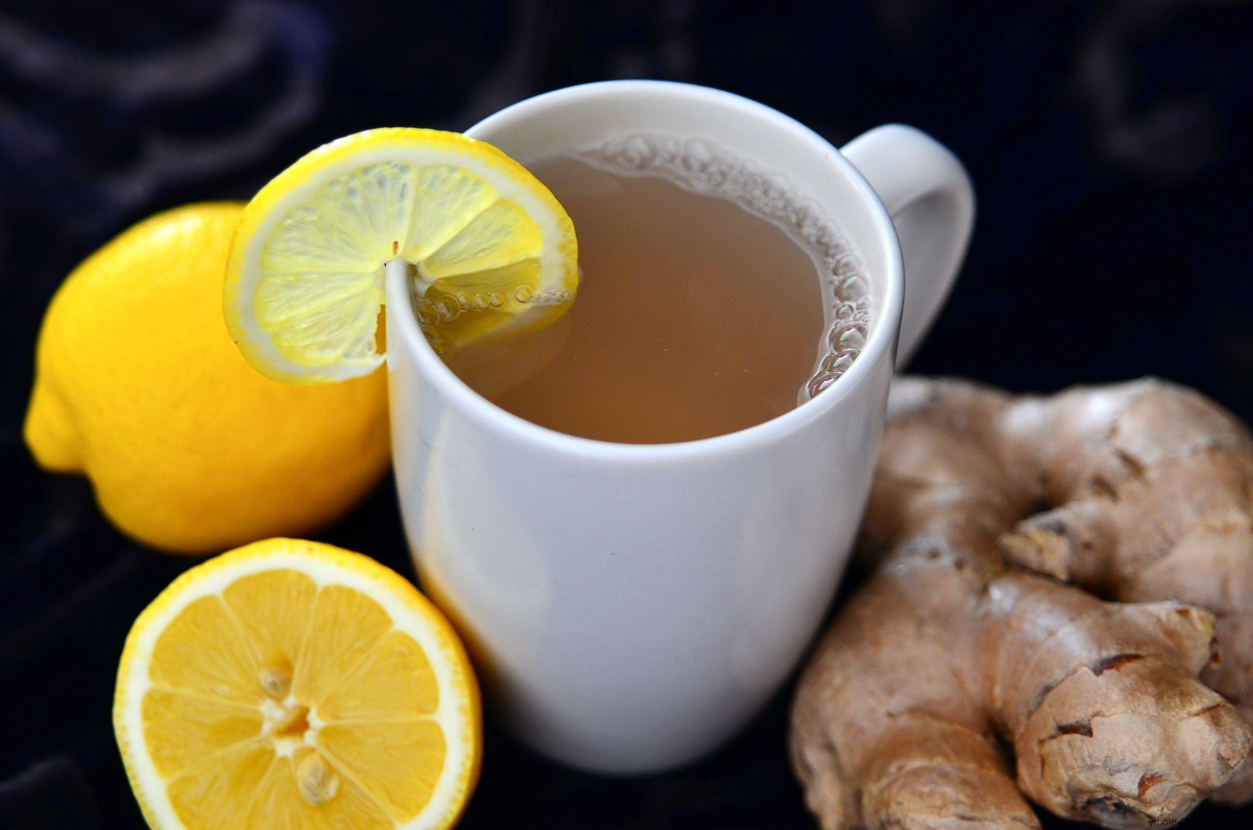 Hero Image Winter Warmers - Fresh Ginger Tea