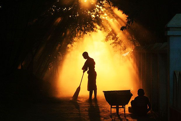 Hero Image Spring clean your life with the yogic concept of Sauca