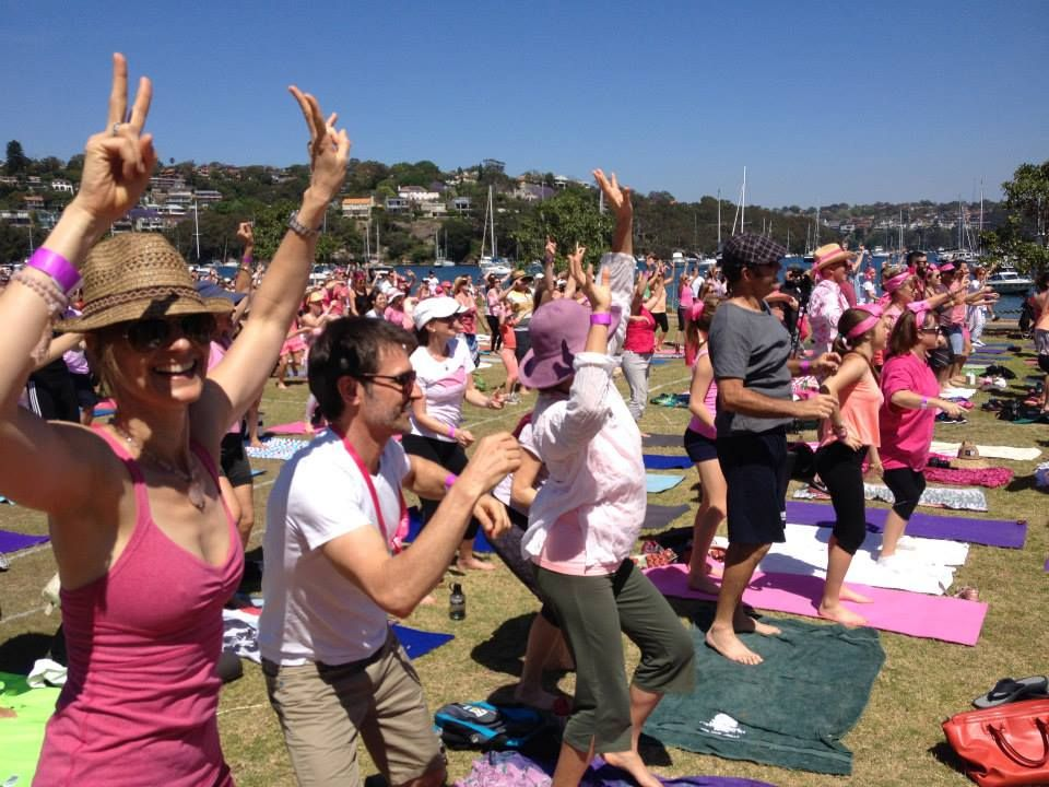 Hero Image The World's Longest Yoga Chain