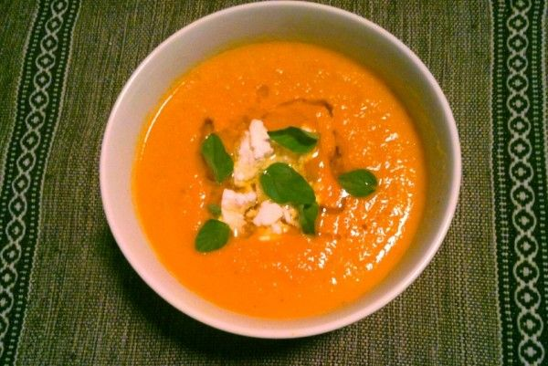 Hero Image Lemon and Spice Carrot Soup